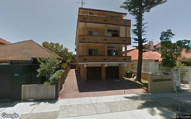 parking on Roscoe Street in Bondi Beach NSW