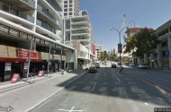 parking on Adelaide Terrace in East Perth