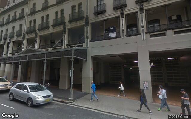 Pitt Street Parking in Sydney