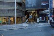 parking on Sussex Street in Sydney Central Business District New South Wales