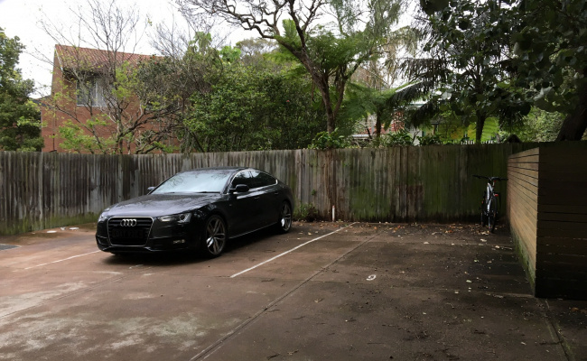 parking on Abbott Street in Coogee New South Wales
