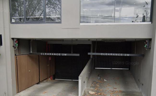 parking on Acland Street in St Kilda Victoria