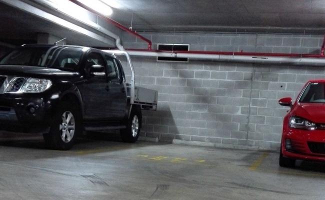 Maximum secured UG Carpark access with swipe card