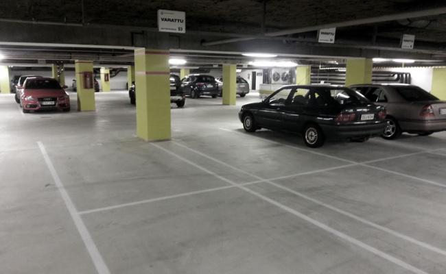 Indoor lot parking on Arncliffe Street in Wolli Creek NSW