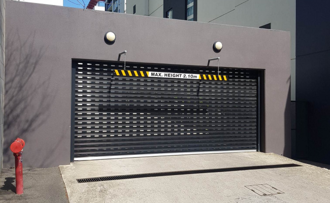 parking on Bank Street in South Melbourne