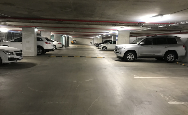 parking on Barrack Square in Perth Western Australia