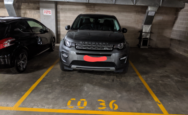 parking on Berry Street in North Sydney