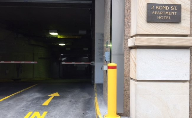 Sydney - Underground Parking near Wynyard Station