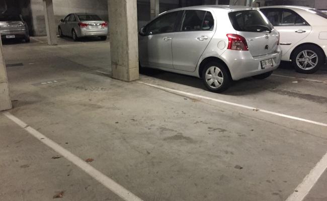 Secured Underground Carpark near Civic