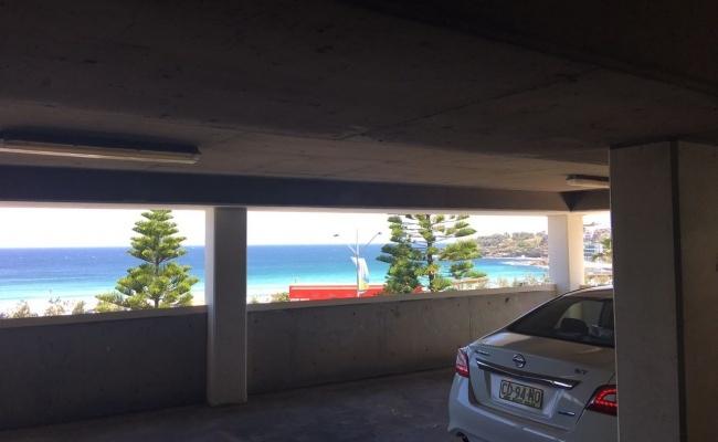 parking on Campbell Parade in Bondi Beach