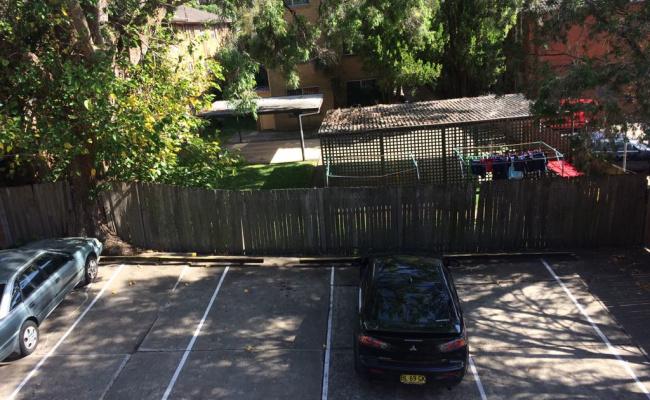parking on Cecil Street in Ashfield