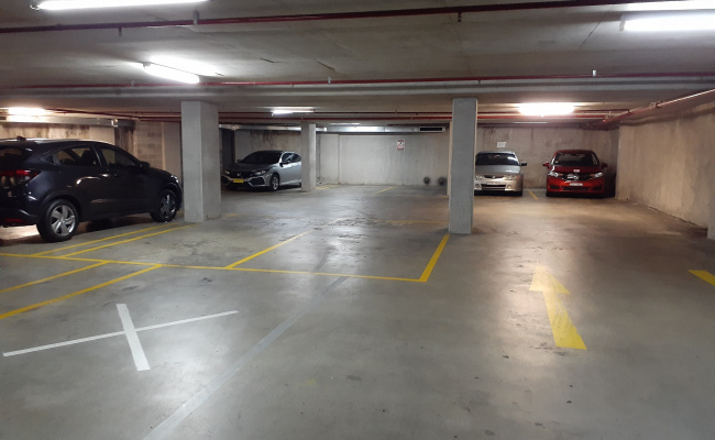 parking on Church St in Parramatta