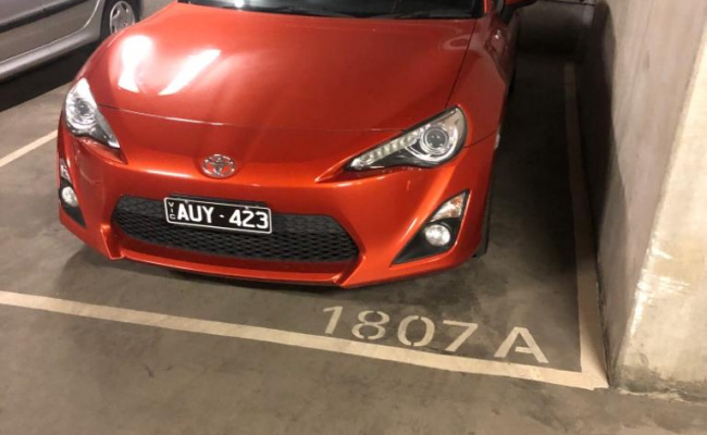 Undercover parking on City Rd in Southbank VIC 3006