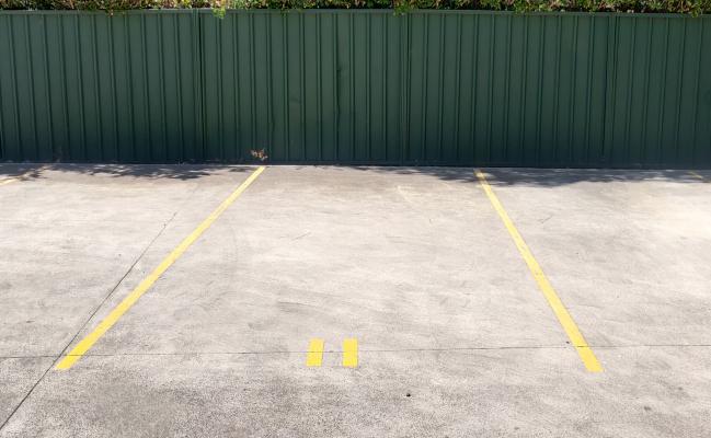 Parking space near school