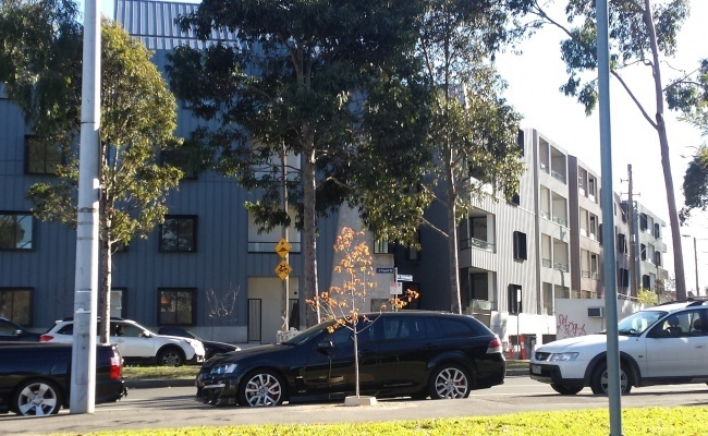 parking on Courtney Street in North Melbourne