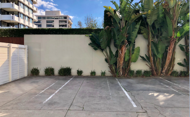 parking on Cowderoy Street in Saint Kilda West