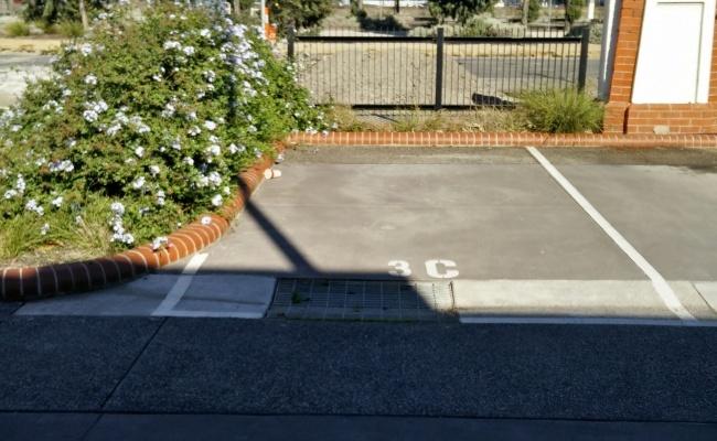 parking on Cross Street in West Footscray