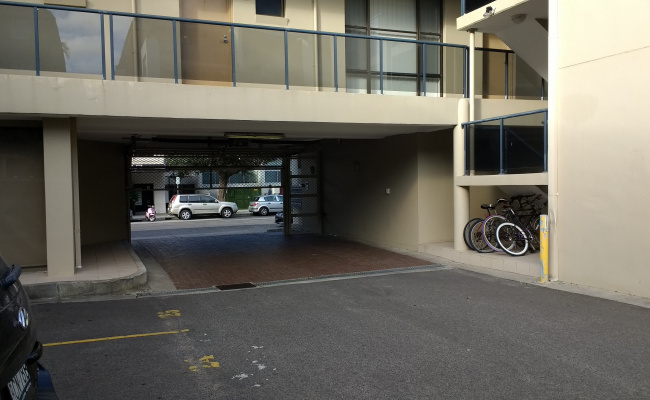parking on Curlewis Street in Bondi Beach New South Wales