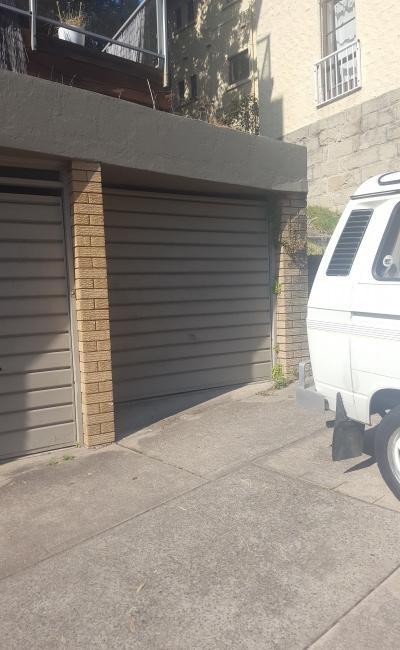 Lock up garage parking on Denham Street in Bondi Beach NSW