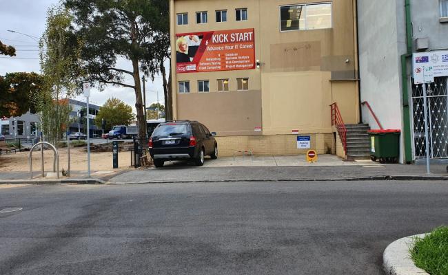 Parking near North Melbourne Train Station