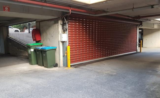 parking on Eden Street in Adelaide SA