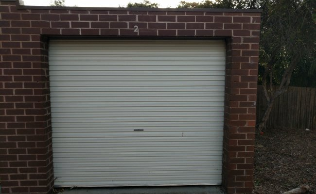 Lock up garage parking on Firth Street in Doncaster VIC