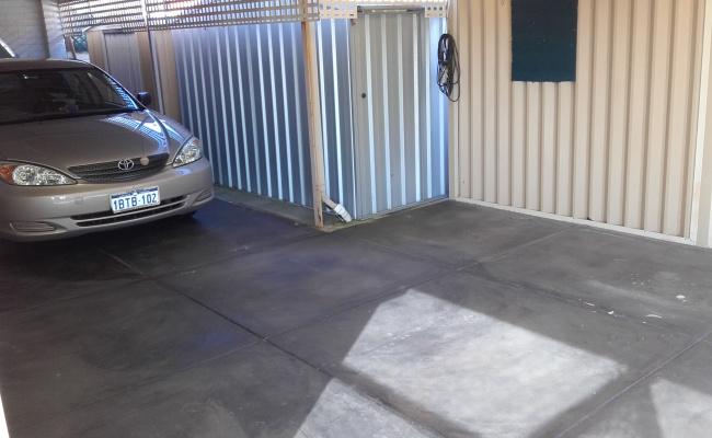 Padbury - Carport Parking near Bus Station