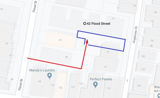 parking on Flood Street in Bondi New South Wales