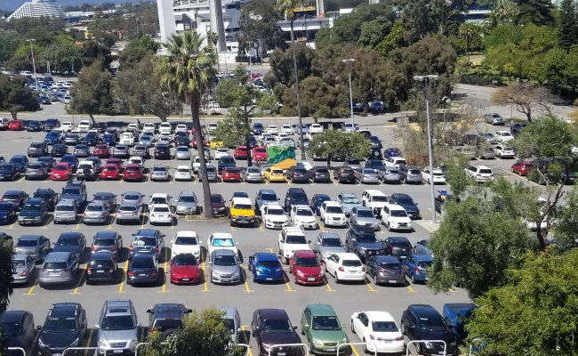 parking on Forrest Avenue in Perth