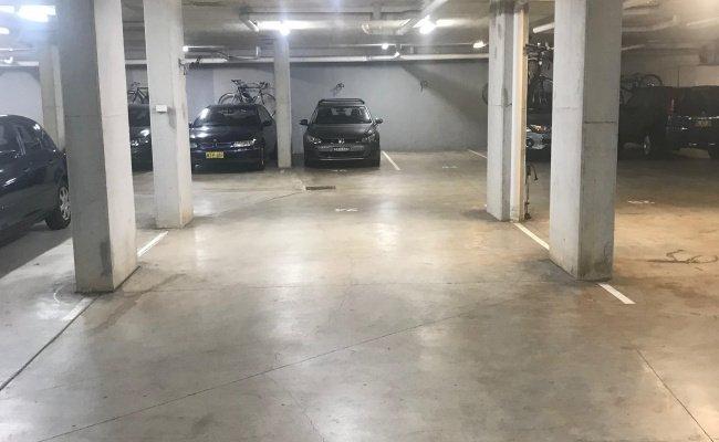 Indoor lot parking on George Street in Redfern