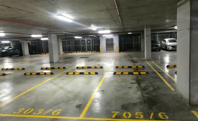 Indoor lot parking on Gertrude Street in Wolli Creek NSW