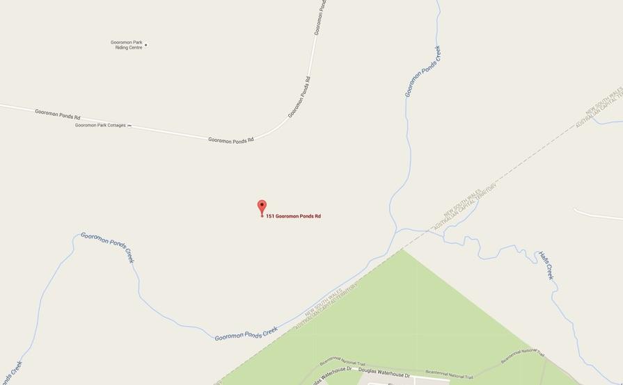 parking on Gooromon Ponds Rd in Wallaroo NSW 2618