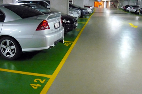 parking on Gotha Street in Fortitude Valley