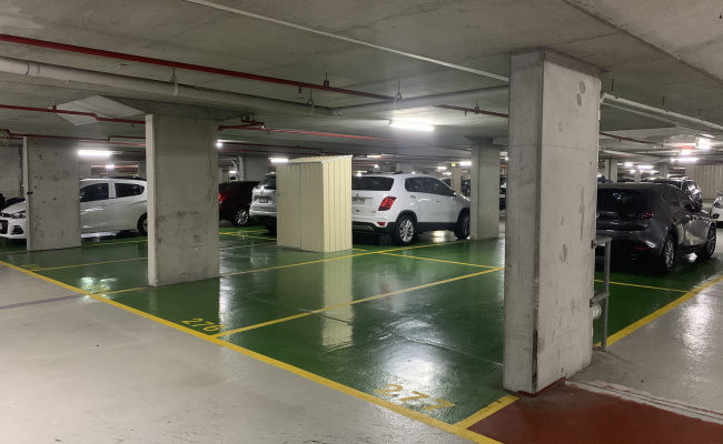parking on Gotha Street in Fortitude Valley Queensland