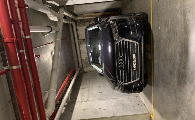 Indoor lot parking on Goulburn Street in Haymarket NSW