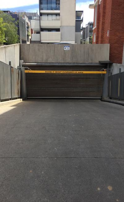 parking on Greeves Street in St Kilda