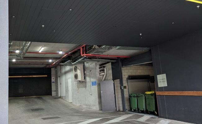 parking on Grey Street in South Brisbane