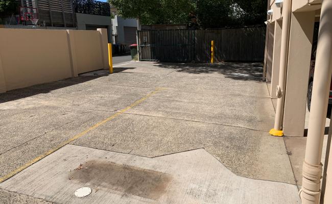 parking on Hewlett Street in Bronte New South Wales