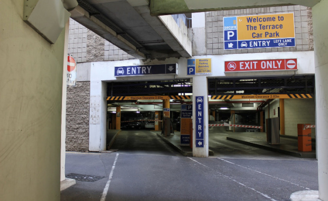 parking on Hindley st in Adelaide