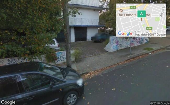 parking on Holt Street in Newtown
