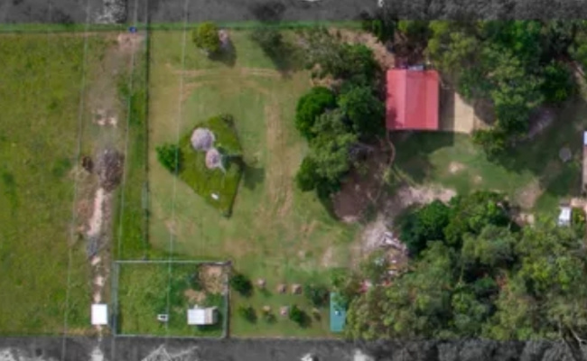 parking on Horseshoe Drive in New Beith Queensland