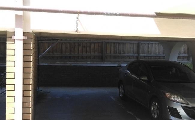 parking on Hyde Street in Footscray