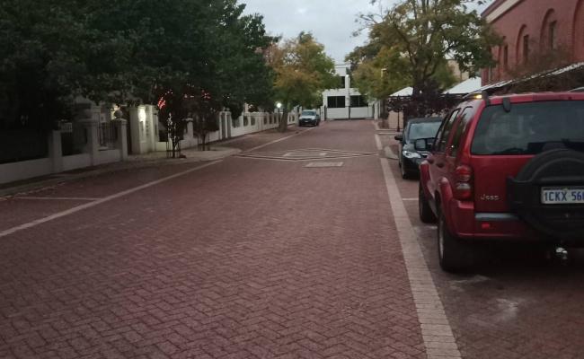 parking on James St in Northbridge