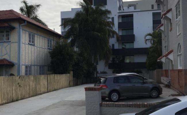 parking on Julius Street in New Farm QLD