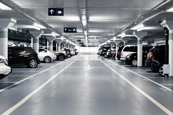 parking on La Trobe Street in Docklands