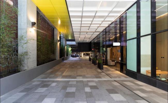 Indoor lot parking on Little Lonsdale Street in Melbourne VIC 3000