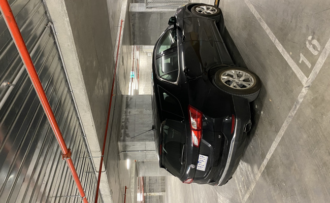 parking on Little Lonsdale Street in Melbourne Victoria