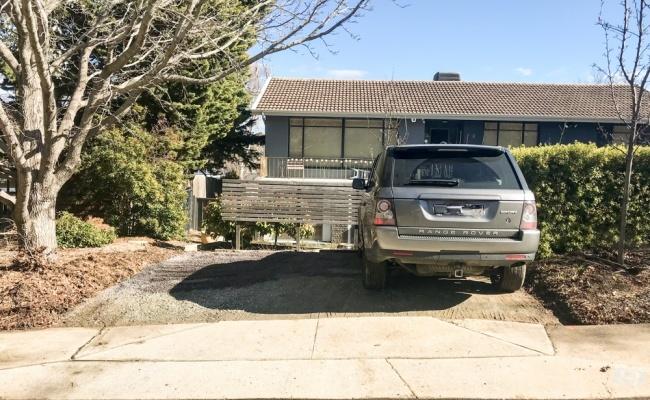 parking on Lutana Street in Lyons