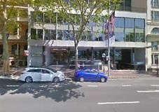 parking on Macquarie Street in Sydney