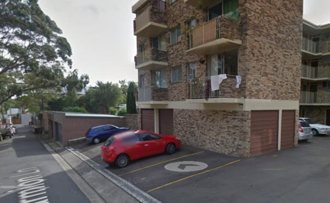parking on Marmion Lane in Camperdown